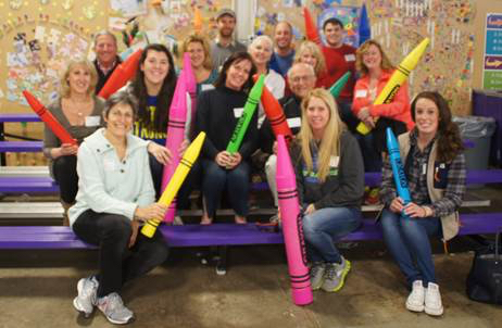 The team at Cradles to Crayons!